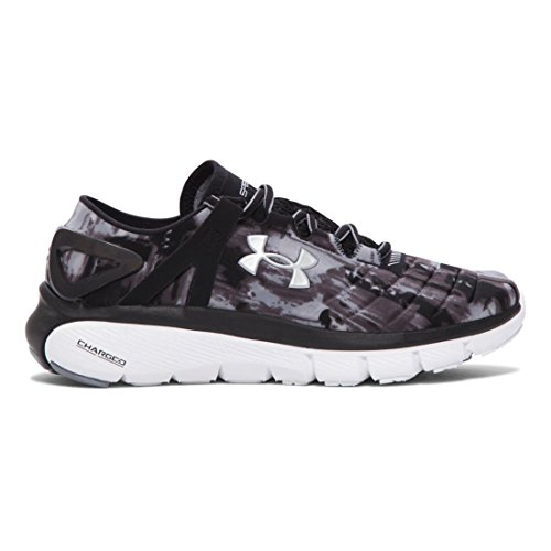 Under Armour W Speedform Fortis Gr - Zapatillas de deporte Mujer Black/White/Aluminum