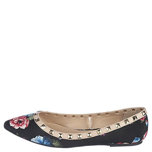 Shiekh Pippa-36 Robe Plate Noire Floral