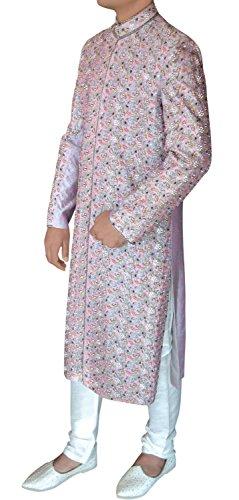 INMONARCH Mens Ethnic Designer Maharaja Sherwani SH378R 40R Lavender