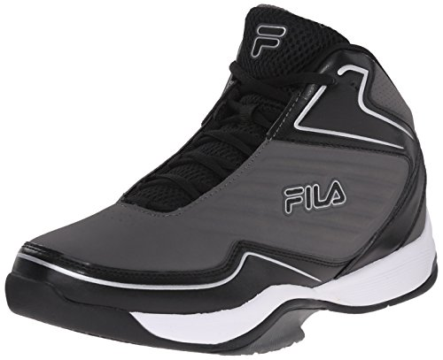 Fila Men's Import Basketball Shoe Pewter/Black/Metallic Silver cheap sale recommend low shipping outlet affordable outlet looking for free shipping cheap online OTd0DE1Afq