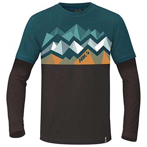 Crag Camiseta Gasolina Marino Abk Bigwall Azul qwO7Rx