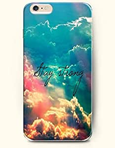 SevenArc Hard Phone Case for Apple iPhone 6 Plus ( iPhone 6 + )( 5.5 inches) - Stay Strong - Above Clouds - Life...