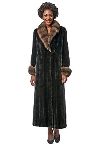 Russian Sable Fur Coat - 7