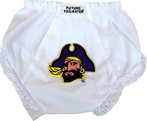 (Future Tailgater East Carolina ECU Pirates Baby Diaper Cover (6-12 Months) (Newborn - 6)