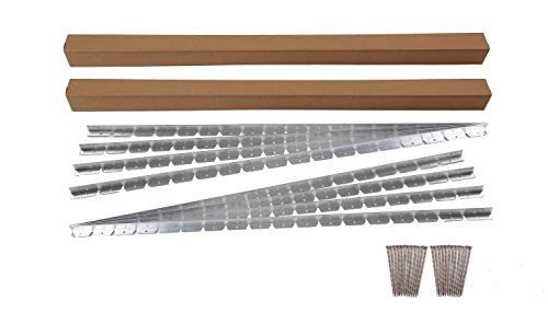 Dimex EasyFlex Commercial Grade Aluminum Landscape Paver Edging Kit, 48-Feet (1856-48C) (Border Concrete And Patio Brick)