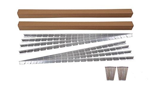 Dimex EasyFlex Commercial Grade Aluminum Landscape Paver Edging Kit, 48-Feet (1856-48C) (Patio Brick Concrete And Border)