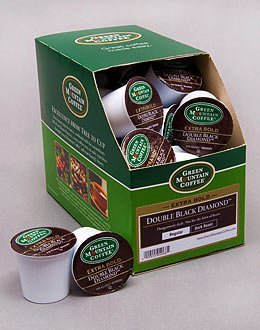 DOUBLE BLACK DIAMOND --- by Green Mountain --- 5 boxes of 24 K-Cups