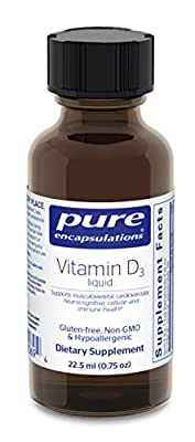 Pure Encapsulations - Vitamin D3 Liquid