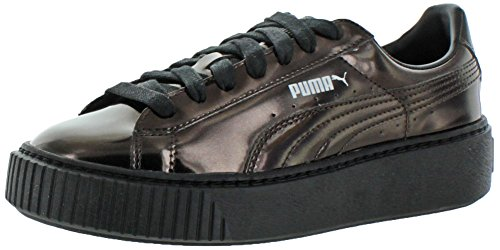 5 Sneakers Black 7 m Metallizzate Puma Donna Creeper Us Da Black B US16fU