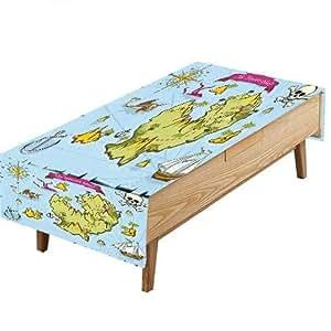 Amazon.com: PINAFORE Natural Tablecloth Decor Treasure