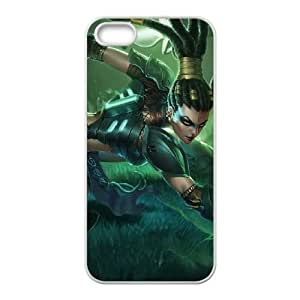 iPhone 4 4s Cell Phone Case White League of Legends Headhunter Nidalee UVW0589880