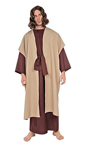 Men Costume For Joseph (Underwraps Men's Plus-Size Joseph, Brown/Tan,)