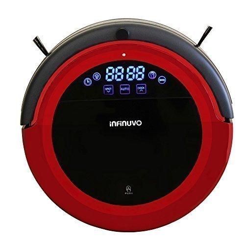 Hovo 710 Robotic Vacuum Color: Red