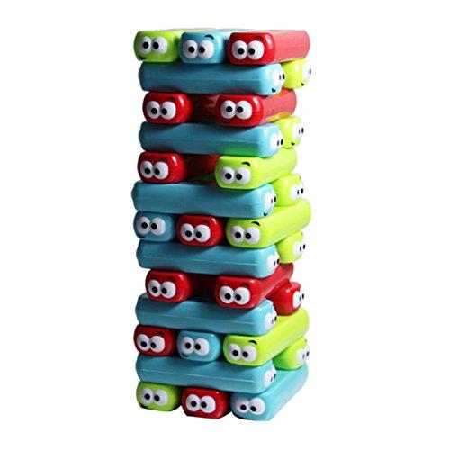 SONONIA 30個 プラスチック製 レンガ積み上げ 塔倒れ 積み木 おもちゃ 卓上ゲーム ギフト