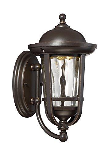 Designers Fountain LED34421-ABP Westbrooke Led Wall Lantern, Aged Bronze Patina
