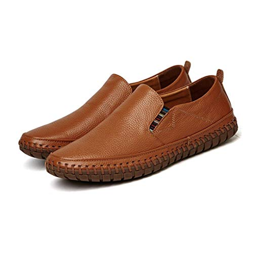Primavera 2018 de y Zapatos Zapatos Gran Cuero Zapatos mocasín Deportivos Perezosos de para de con otoño Hombres y tamaño Zapatos Zapatos Cordones Casuales UN I0PqT