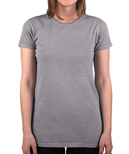 Have It Tall Women's T Shirt Premium Ringspun Cotton Made in USA Sizes ST - 2XLT Gray Large Tall ()