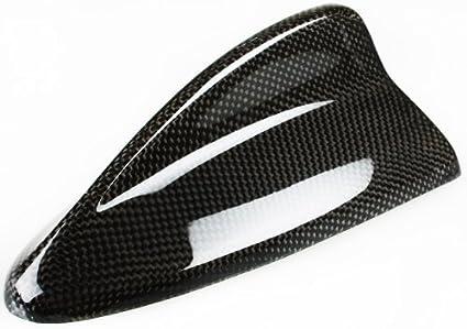 DELTALIP Real de fibra de carbono de aleta de tiburón antena ...