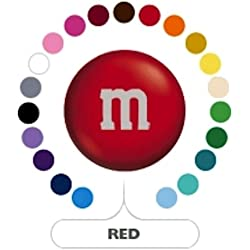 M&M's Red Milk Chocolate Candy 5LB Bag