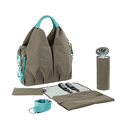 Lassig Green Label Neckline Diaper Bag Taupe