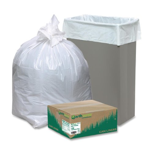 (Webster - Re-Claim Tall Kitchen Bags, 13 gallon, 0.8mil, 24 x 31, White, 150 bags per Box - Pack of)