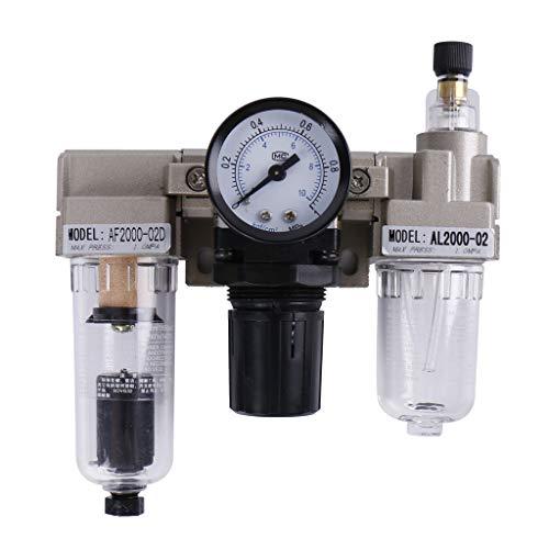 Homyl Separador de Agua de Aceite Drenaje Automático Estructura simple Peso Ligero Instalación y Mantenimiento