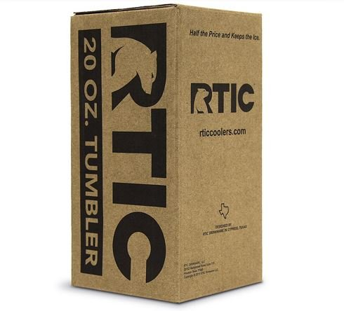 RTIC 20 Oz Stainless Steel Tumblers (Case / 48 Tumblers) by