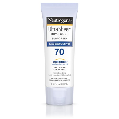 Neutrogena Ultra Sheer Dry-Touch Sunscreen SPF 70 3 oz
