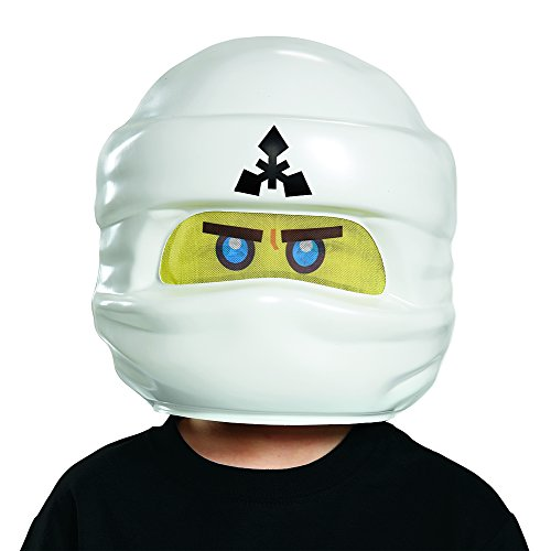 Zane LEGO Ninjago Movie Mask, One Size -
