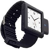 KOKKIA i10sWatch:究極の時計。 ブラックiPod Nano 6Gリストバンド付き(iPod Nanoは含まれません)小型i10s(豪華ブラック)Bluetooth iPodトランスミッター。