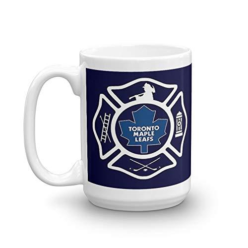 Toronto Fire - Maple Leafs style 15 Oz White Ceramic