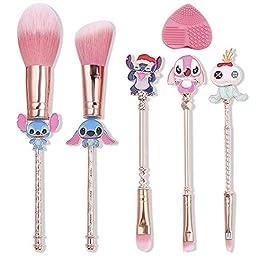 5Pcs Interstellar Baby Makeup Brushes Set Creative Theme Cosmetic Brushes Set, Premium Synthetic Foundation Eye Shadow…