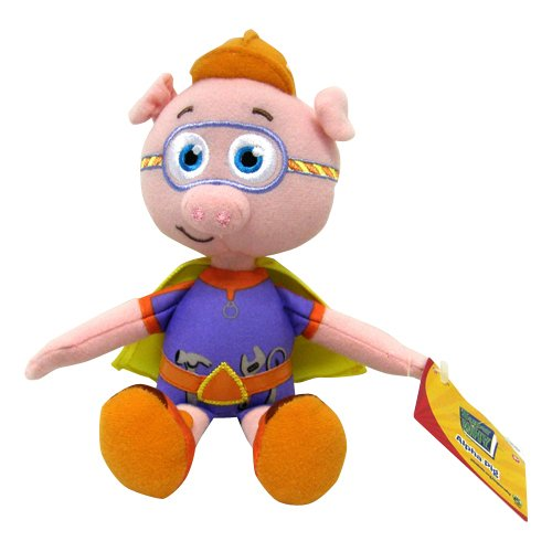 Super Why Pig Costume (Super Why Plush Figure Alpha Pig)