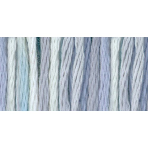 DMC 417F-4010 Color Variations Six Strand Embroidery Floss, 8.7-Yard, Winter Sky