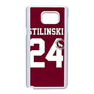 Design Cases Samsung Galaxy Note 5 Cell Phone Case White Teen Wolf Stilinski 24 Kmnpmy Printed Cover