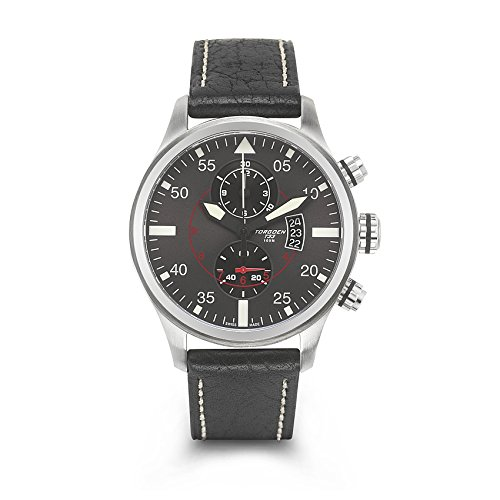 Torgoen Swiss Men's T33102 Pilot Watch
