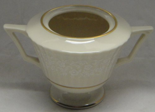 - Lenox Citation Lace Sugar Bowl No Lid