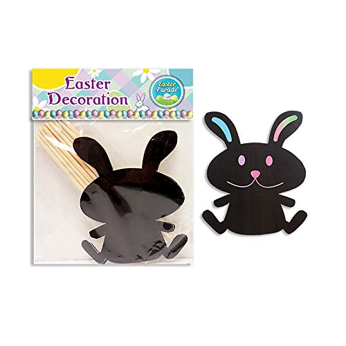 Magic Scratch Easter Bunny Rainbow Shapes with Wooden