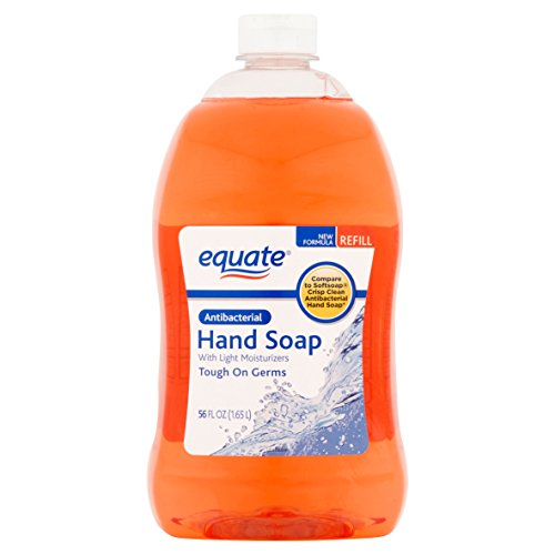 Equate Light Moisturizing Liquid Hand Soap Refill, 56 Fl (Self Foaming Soap Refill)
