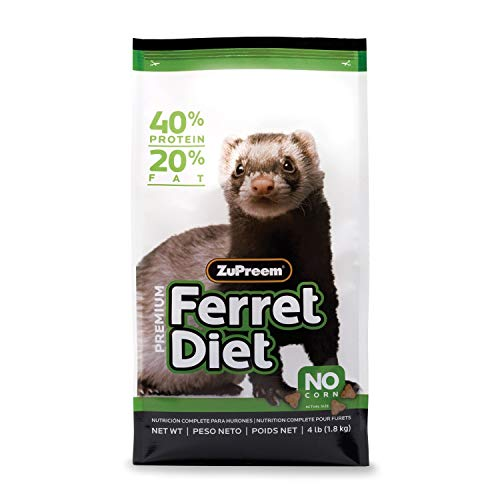 Zupreem 230058 Premium Ferret Pet Food, 8-Pound