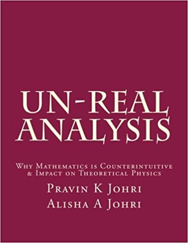 Un-Real Analysis: Why Mathematics is Counterintuitive