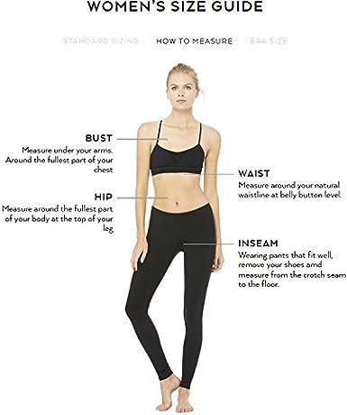 Alo Yoga Womens High Waisted Ripped Warrior Legging Leggings
