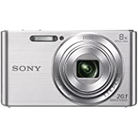 Sony DSCW830 20.1 MP Digital Camera with 2.7-Inch LCD...