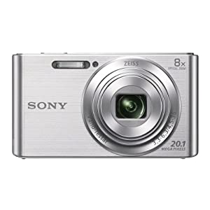 41z8JAFJrlL. SS300  - Sony DSCW830 20.1 MP Digital Camera with 2.7-Inch LCD (Silver)  Sony DSCW830 20.1 MP Digital Camera with 2.7-Inch LCD (Silver) 41z8JAFJrlL
