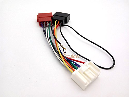 select models // only acceptable for new 20-pin plug // without navigation // not for Rockford Fosgate amplifier Stereo Radio Receiver Replacement Wire Harness Cable Autostereo ISO Lead Wiring Loom Power Adaptor Wire Radio Connector for MITSUBISHI 2007+