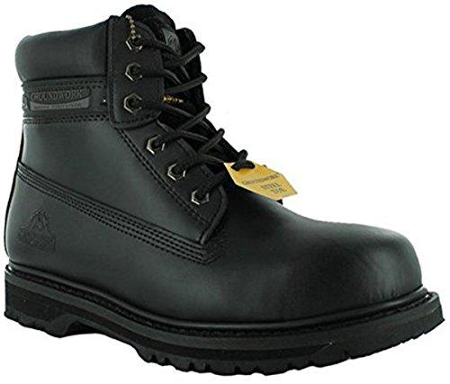 Groundwork - Calzado de protección para hombre negro - negro
