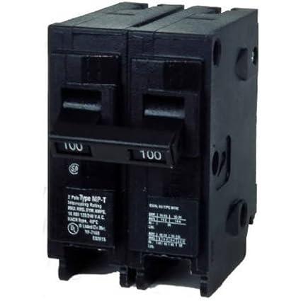 MP2100 100-Amp Double Pole Type MP-T Circuit Breaker