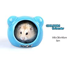 Hamster Supplies Ceramic Critter Bath House Hamster Shade House Room Refreshing Cool Igloos (Style5)