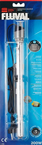 Fluval A784 M200 Aquarienheizer für Aquaien bis 200 L, 200 W