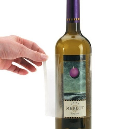 Label Off Wine Label Removers - Pack of 10